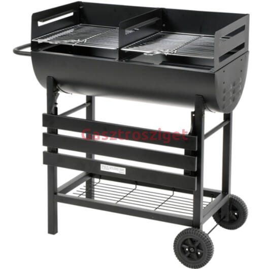 Kerti grill 2 rácsos 36X39 cm