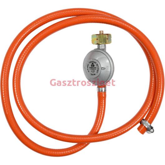 Gáz reduktor 1,5m-es tömlővel