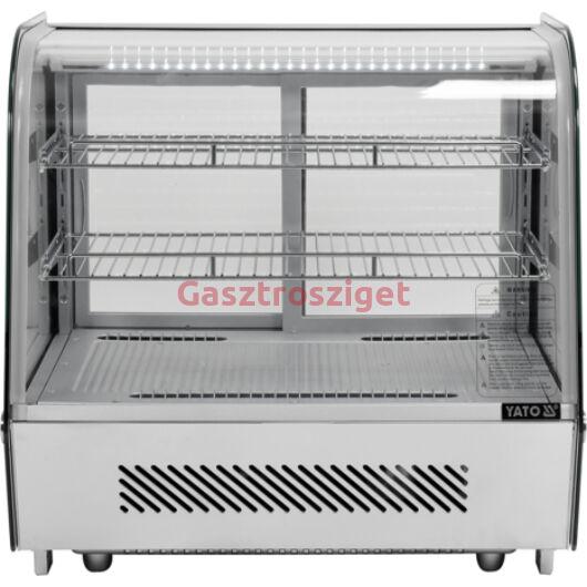 Üveges hűtőszekrény 120l-es