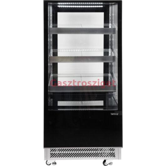 Üveges hűtőszekrény 300l-es