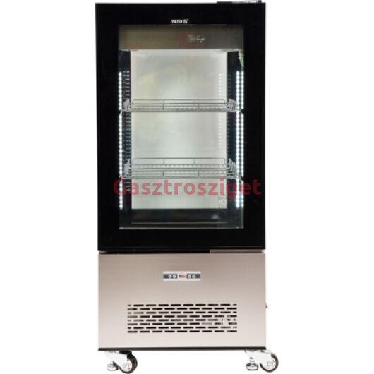Üveges hűtőszekrény 270l-es