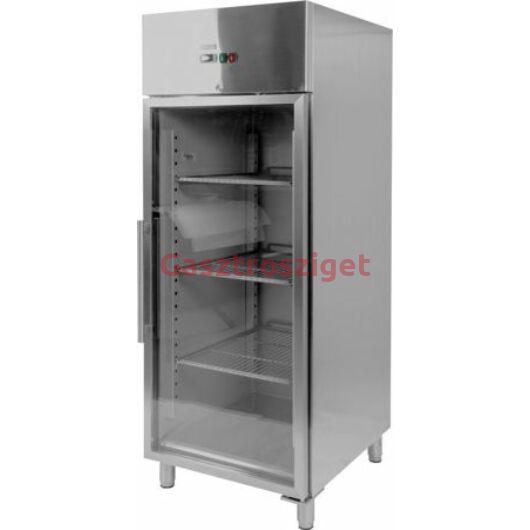 Yato Üveges hűtőszekrény 650l GN2/1