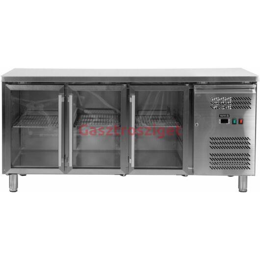 Yato Üveges hűtőpult 417l