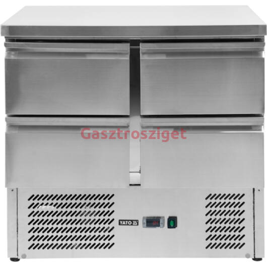 Yato hűtőpult 220l 4 fiókos