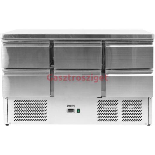 Yato 6 Fiókos Hűtőpult 368l