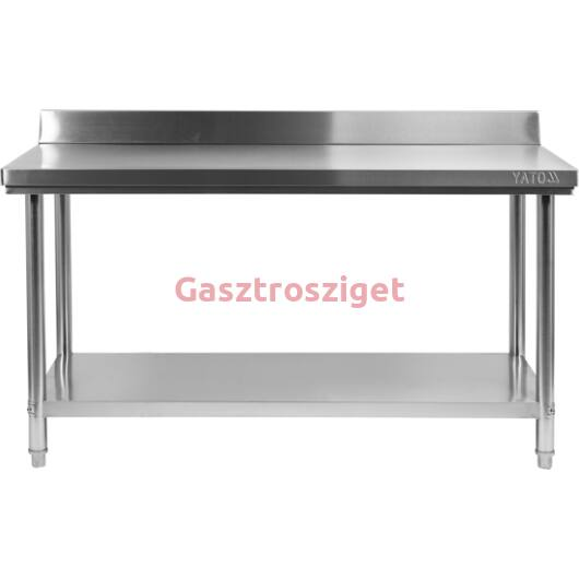 Asztal 1500x600x850+100mm