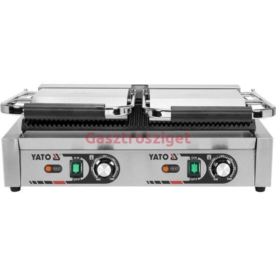 Elektromos kettős grillsütő