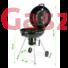 Kép 2/7 - Faszenes kerti grill 57 cm